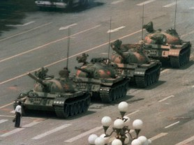 A circus, the Tank Man and a dead pop star